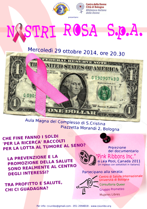 volantino pink ribbons_bozza